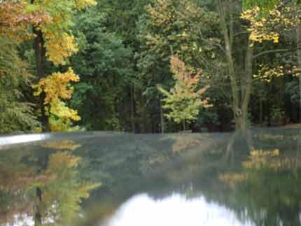 Βρυξέλλες, πίσω από τις λύμνες (W. St. Pierre, 19.10.09)