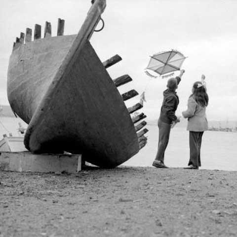 Καθαρή Δευτέρα, 1970 περίπου. Φωτογραφία Ζαχαρίας Στέλλας © Φωτογραφικά Αρχεία Μουσείου Μπενάκη