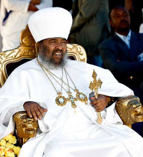 His Holiness Abune Paulos of Ethiopia -fell asleep in the Lord in Addis Ababa, Ethiopia, on August 16, 2012.