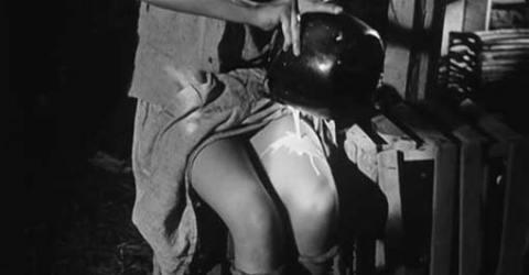 """Still from """"Los Olvidados"""" -Luis Buñuel (1950) and Alma Delia Fuentes' sheer sensual beauty (b.1937 Mexico City)"""